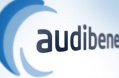 Audibene logo Homepage