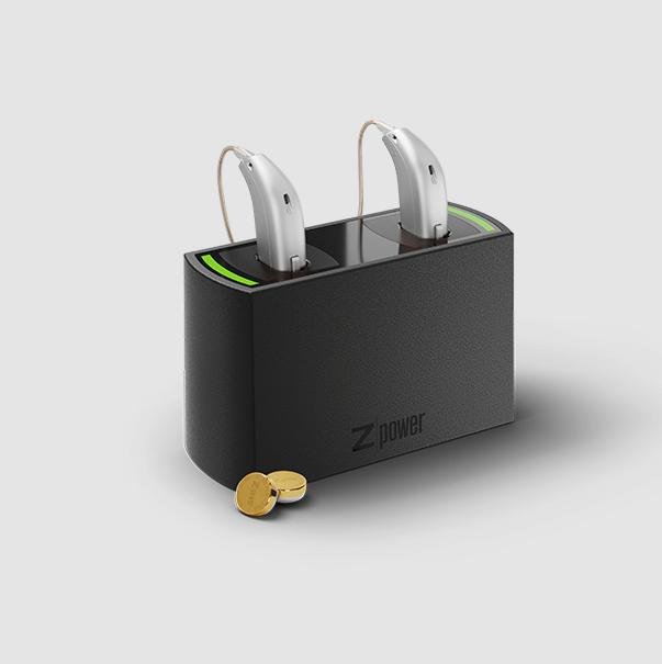 Oticon Connectline Hörgeräte Schwarz zubehör