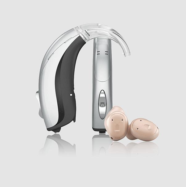 Widex Unique Hörgeräte Silber-Rose gold-mini bei Tinnitus