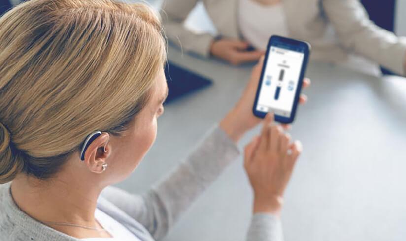 Hörgeräte Steuerung App