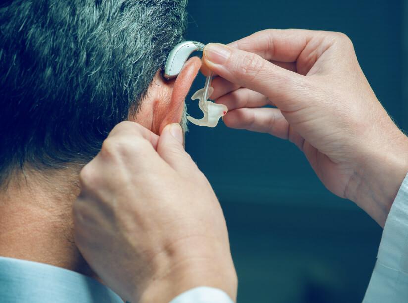 Hörgeräte mit Ohrpassstück
