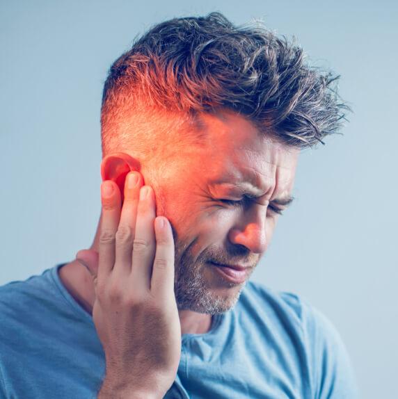 Gehör schmerzen