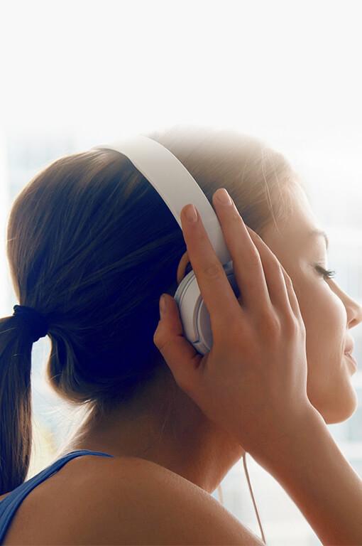 Hörgeräte Kopfhörer Musik