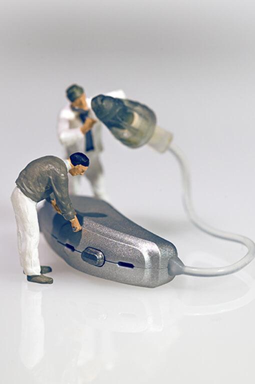 Hörgeräte-Reinigung