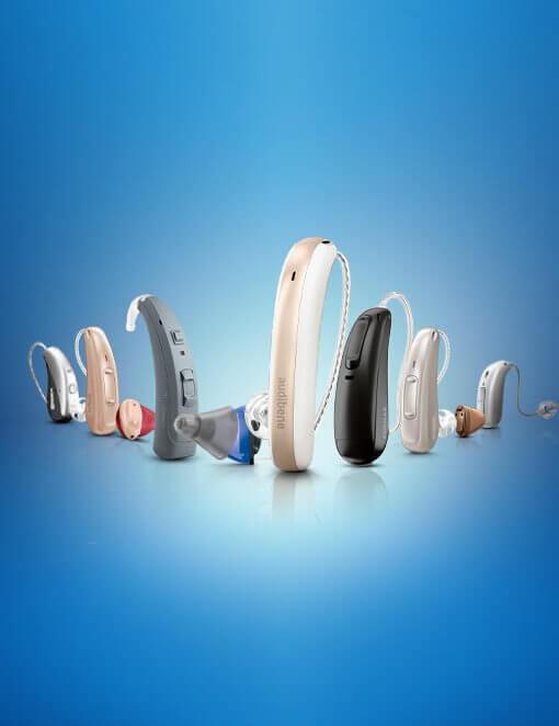 Hörgeräte verschiedene Modell