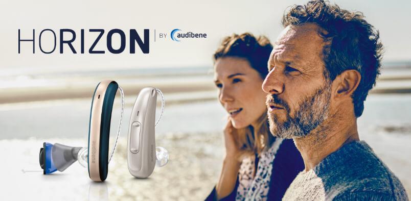 audibene Horizon Hörgerät Banner Homepage